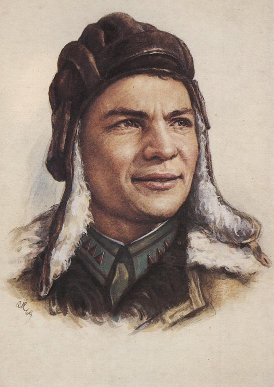 Герои Великой Отечественной войны Маршал Жуков  Иван Тимофеевич Любушкин 1918 1942