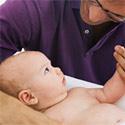 Массаж для ребенка 3-4 месяцев
