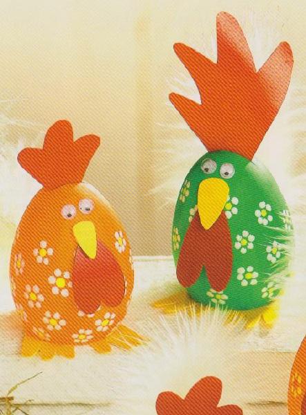 Яйца поделка с ребенком 748
