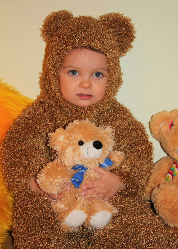 Новогодний костюм для мальчика медведь своими руками