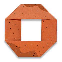 Оригами пончик