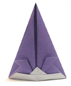Оригами лошадь схема видео фото 519
