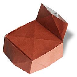 Оригами кресло