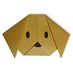 Оригами собака схема