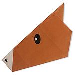 Оригами лошадь схема