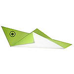 Оригами кузнечик схема