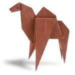 Оригами верблюд