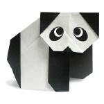 Оригами панда