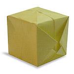 Оригами воздушный шар схема