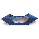 Оригами моторная лодка