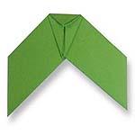 Оригами цикада