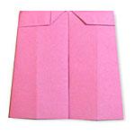 Оригами юбка брюки