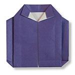 Оригами свитер