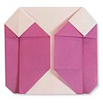 Оригами пуховик