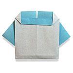 Оригами детская одежда
