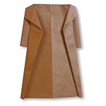 Оригами пальто