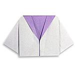 Оригами тельняшка