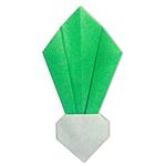 Оригами репа