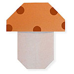 Оригами гриб