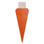 Оригами морковь