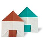 Оригами дом