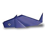 Оригами дельфин