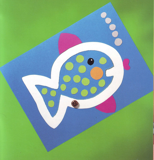 Из цветной бумаги и картона для детей