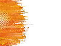 Оранжевый фон для презентации