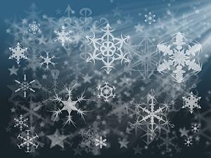 бесплатный красивый зимний фон для презентации
