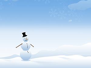 Зимний фон для презентации