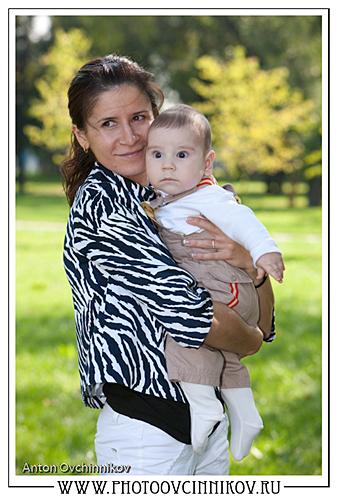 Фотосессия мамы и сына
