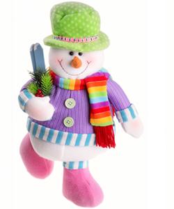 Образ снеговика можно использовать так же при оформлении дома к новогодним праздникам.