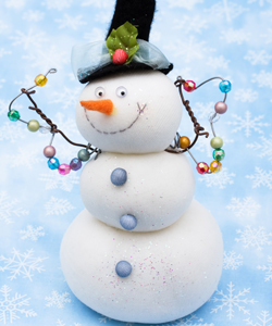 клипарт UHQ Снеговик.